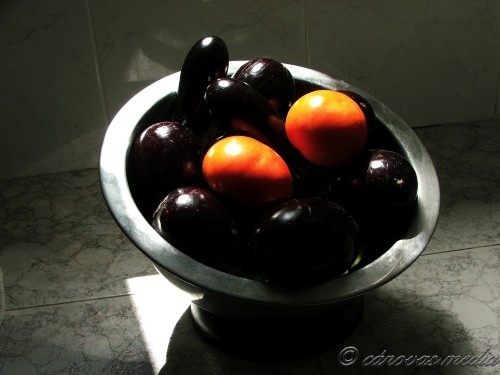 berenjena-tomate